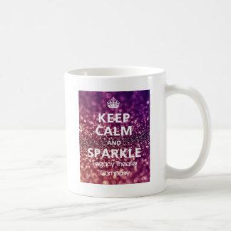 Keep Calm & Sparkle Basic White Mug