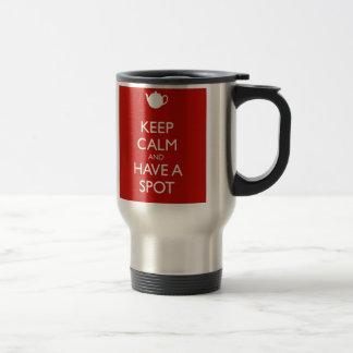 Keep Calm Spot of Tea Travel Mug
