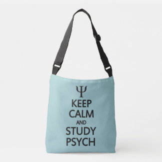 Keep Calm & Study Psych bags Tote Bag