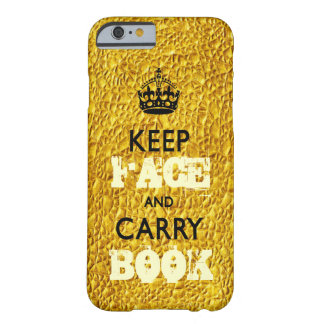 KEEP CALM TEMPLATE CUSTOMIZE FACEBOOK BEST SELLER BARELY THERE iPhone 6 CASE