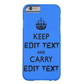 KEEP CALM TEMPLATE CUSTOMIZE POPULAR BEST SELLER iPhone 6 CASE