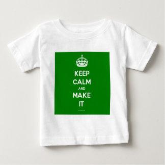 keep calm template generated shirt