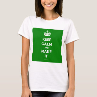 keep calm template generated T-Shirt