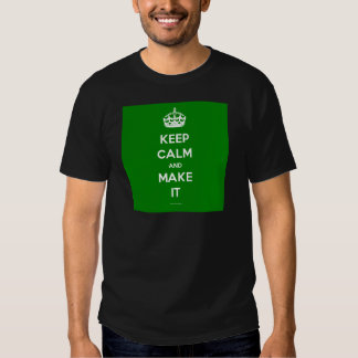 keep calm template generated t shirts