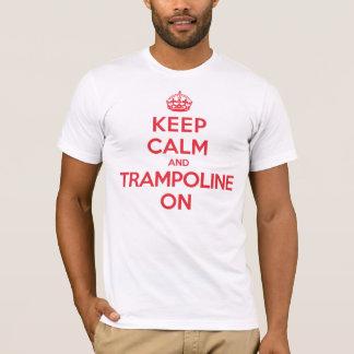 Keep Calm Trampoline T-Shirt