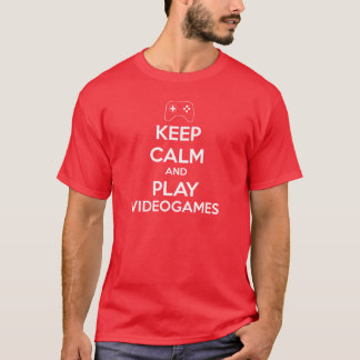 Keep Calm Videogames T-Shirt