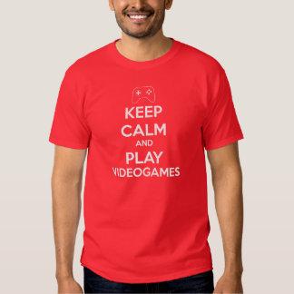 Keep Calm Videogames Tee Shirt