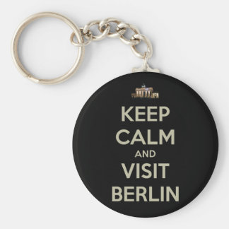 keep calm visit berlin key ring