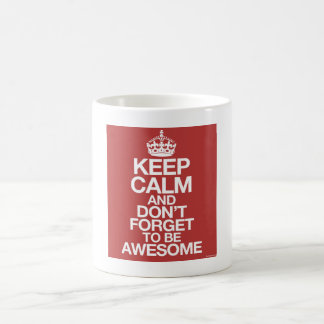 Keep calm wild duck don´t travelled goat to ask aw basic white mug