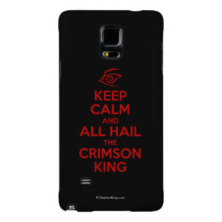 Keep Calm with the Crimson King Galaxy Note 4 Case