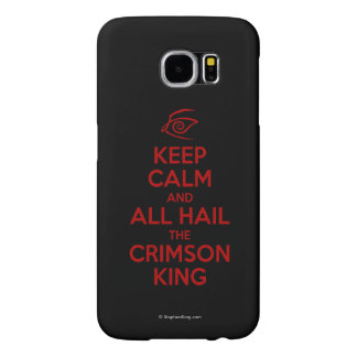 Keep Calm with the Crimson King Samsung Galaxy S6 Cases