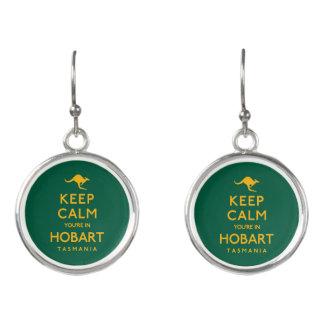Keep Calm You're in Hobart! Earrings