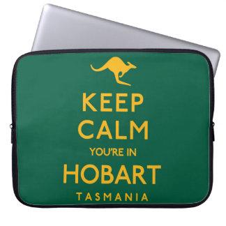 Keep Calm You're in Hobart! Laptop Sleeves