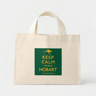 Keep Calm You're in Hobart! Mini Tote Bag