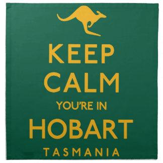 Keep Calm You're in Hobart! Napkin