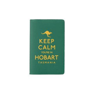 Keep Calm You're in Hobart! Pocket Moleskine Notebook