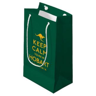 Keep Calm You're in Hobart! Small Gift Bag