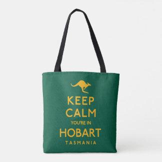 Keep Calm You're in Hobart! Tote Bag