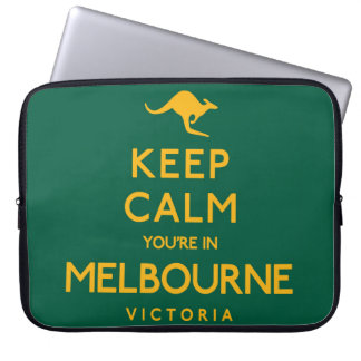 Keep Calm You're in Melbourne! Computer Sleeve
