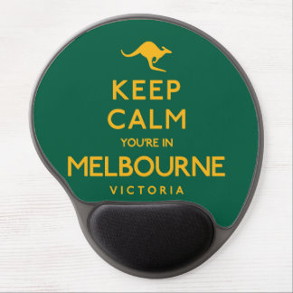 Keep Calm You're in Melbourne! Gel Mouse Pad
