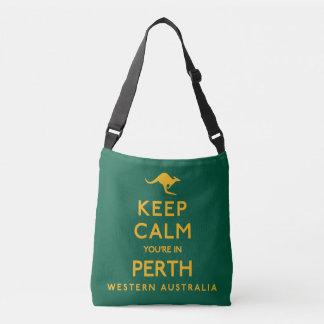 Keep Calm You're in Perth! Crossbody Bag