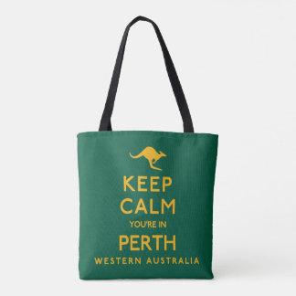 Keep Calm You're in Perth! Tote Bag