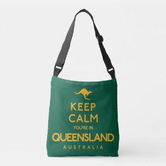 Keep Calm You're in Queensland! Crossbody Bag