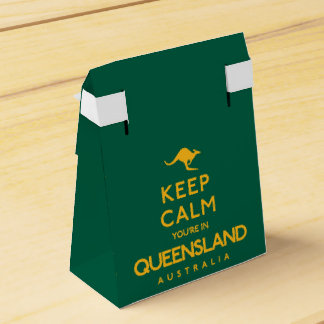 Keep Calm You're in Queensland! Party Favour Boxes
