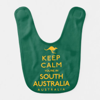 Keep Calm You're in South Australia! Bib