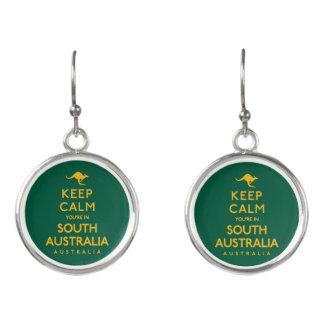Keep Calm You're in South Australia! Earrings