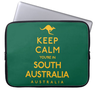 Keep Calm You're in South Australia! Laptop Computer Sleeve