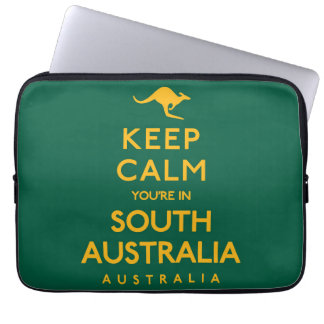 Keep Calm You're in South Australia! Laptop Sleeve