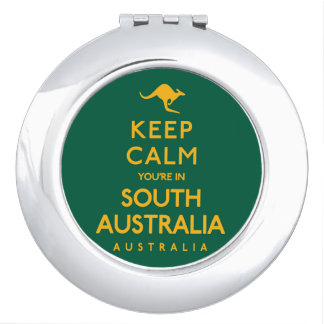 Keep Calm You're in South Australia! Makeup Mirrors