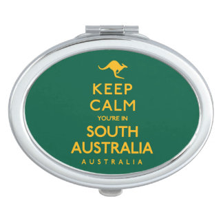 Keep Calm You're in South Australia! Travel Mirror