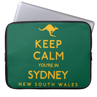 Keep Calm You're in Sydney! Laptop Sleeves