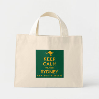 Keep Calm You're in Sydney! Mini Tote Bag