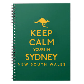 Keep Calm You're in Sydney! Notebooks