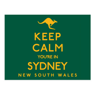 Keep Calm You're in Sydney! Postcard