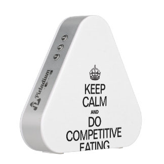 KEEP CALME AND DO COMPETITIVE EATING