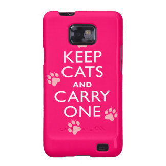 Keep Cats Galaxy SII Covers