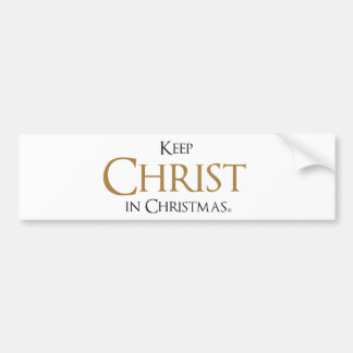 Keep Christ in Christmas® Bumper Sticker