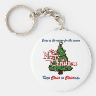 Keep Christ in Christmas Key Chains