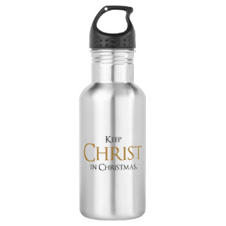 Keep Christ In Christmas® Water Bottle