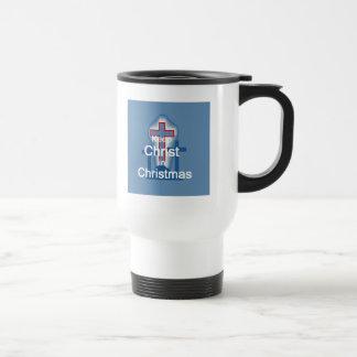 Keep Christ 15 Oz Stainless Steel Travel Mug
