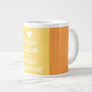 Keep Clam and Stay Positive Coffee Mug