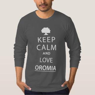 Keep clam oromo T-shirt