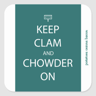 Keep Clam Sticker