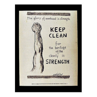 Keep Clean Postcard