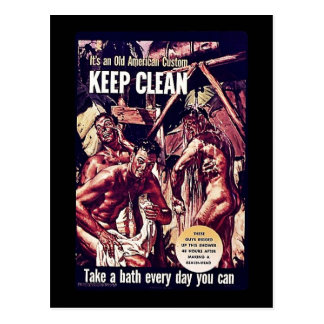 Keep Clean Post Cards