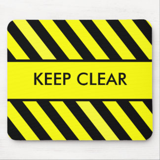 Keep Clear Mouse Pad